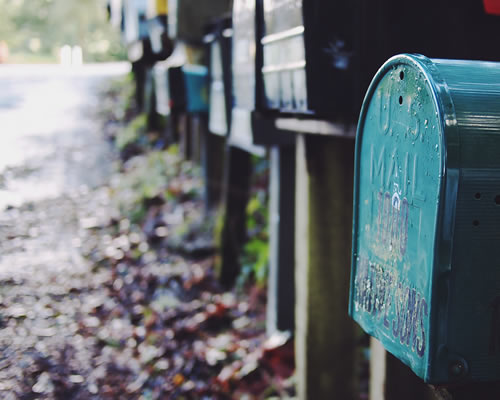 Signup for our Mailing List!